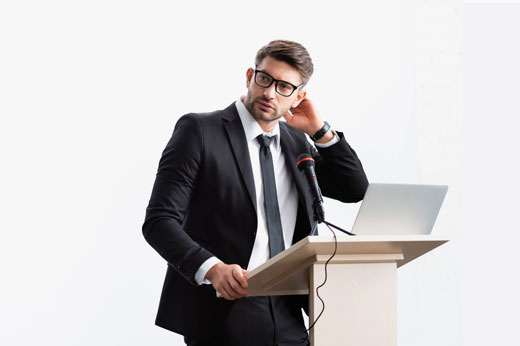 Never forget what you want to say … how to remember your presentation without notes